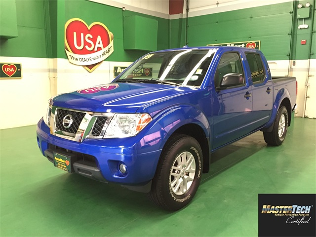 Certified Pre Owned 2015 Nissan Frontier Sv 4d Crew Cab In Aurora