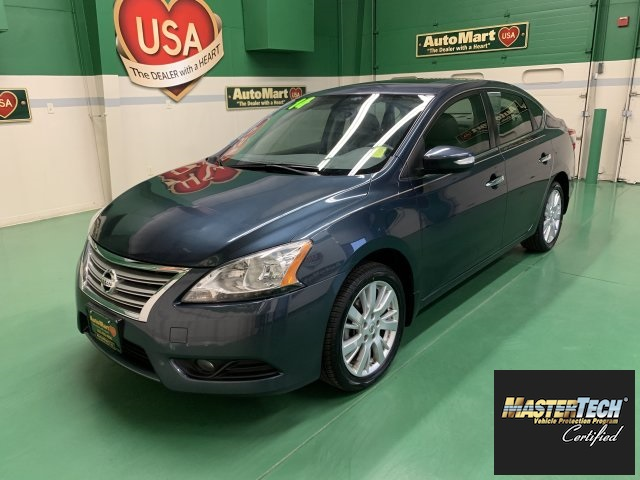 Certified Pre-Owned 2014 Nissan Sentra SL