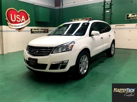 Certified Pre-Owned 2014 Chevrolet Traverse LT