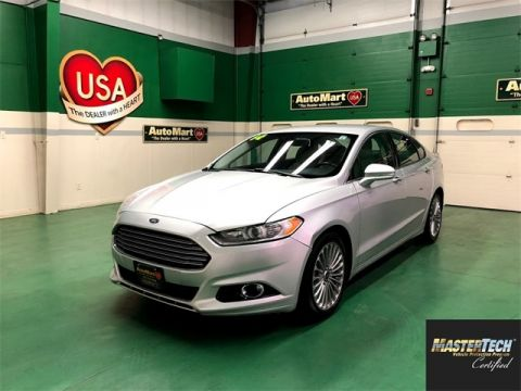 Certified Pre-Owned 2014 Ford Fusion Titanium